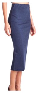 Bodycon Spring Summer Comfy Skirt Navy