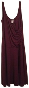 Gap short dress burgundy on Tradesy
