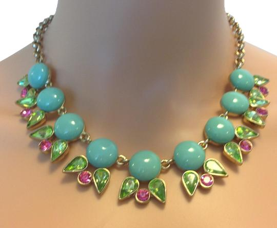 Preload https://img-static.tradesy.com/item/15222232/turquoise-blue-crystal-necklace-0-3-540-540.jpg