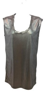 A|X Armani Exchange Slate Stretchy Top