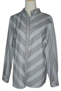Foxcroft Button Down Shirt Multi-Color