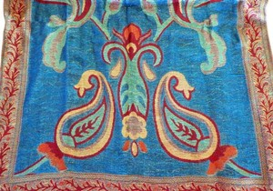 Apartment 9 Dancing Paisley Metallic Jacquard Scarf