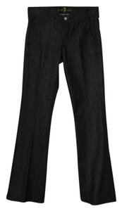 7 For All Mankind Trouser Denim Trouser/Wide Leg Jeans-Dark Rinse