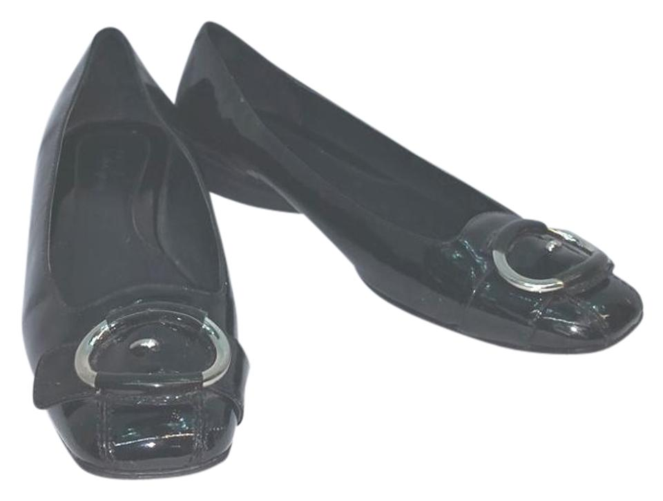 2ae130a434b9 Cole Haan Nike Air Black Patent Leather M Pumps Size US 8 Regular (M ...