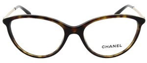 Chanel Chanel Swarovski Pave Cat Eye, Eye Glasses 3293B (Dark Havana)