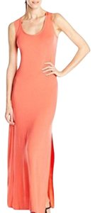 Salmon Maxi Dress by Calvin Klein