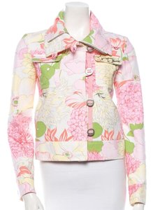 Burberry Floral Womens Jean Jacket