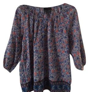 Cythnia rowley Top multi blue