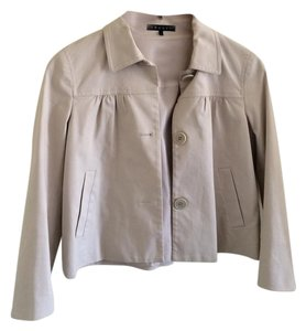 Theory Swing Style Casual Beige Jacket