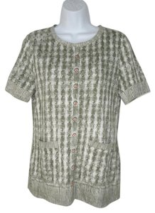 Anthropologie Knit Cototn Modal Printed T Shirt