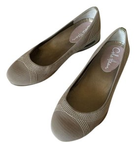 Cole Haan Ballet Comfortable Cool Gray Wedges