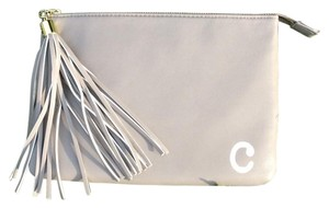 Alice + Olivia Grey Clutch