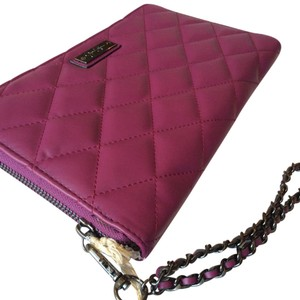 Jessica Simpson Purple Pink Clutch