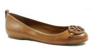 Tory Burch Mini Miller Nappa Brown Flats
