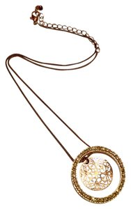 Other Gold Double Charm Necklace
