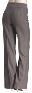 NYDJ Herringbone Striped Trouser Pants Gray