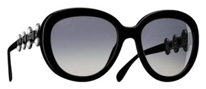 Chanel Chanel Bijou Butterfly Sunglasses in Black with pearls 5334hb