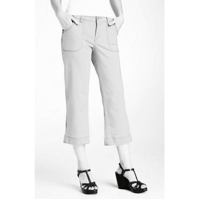 Jag Jeans Cargo Cropped Pockets Capris White Image 1