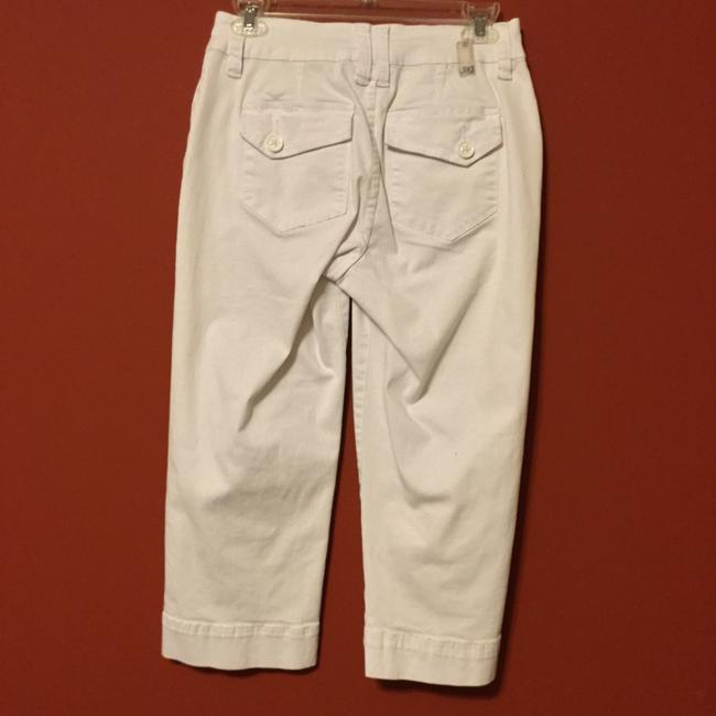 Jag Jeans Cargo Cropped Pockets Capris White Image 3