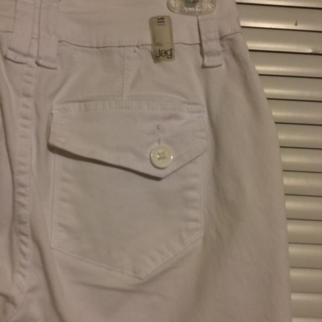 Jag Jeans Cargo Cropped Pockets Capris White Image 4