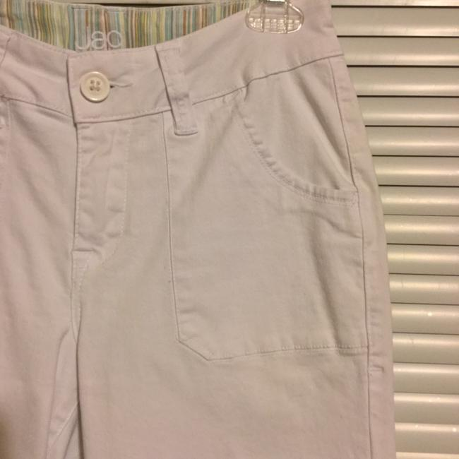 Jag Jeans Cargo Cropped Pockets Capris White Image 5