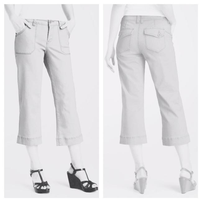 Jag Jeans Cargo Cropped Pockets Capris White Image 6