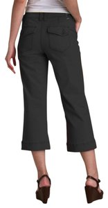 Jag Jeans Cargo Cropped Twill Stretchy Capris Black