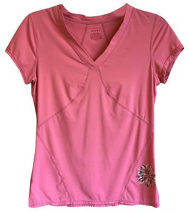 Zella Zella Pink Wicking Performance Tee