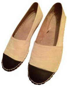 Mossimo Supply Co. Espadrilles Tan and black Flats