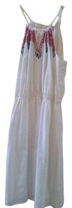 Old Navy short dress White Sleeveless Halter Smock on Tradesy