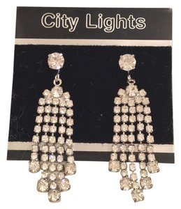 City Lights Vintage Chandelier Dangle Earrings