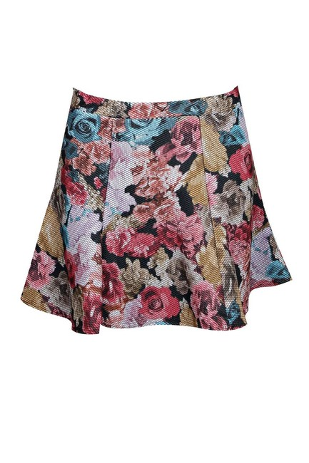 Other Flippy Mini Fit And Flare Women's Women's Mini Skirt multi-color