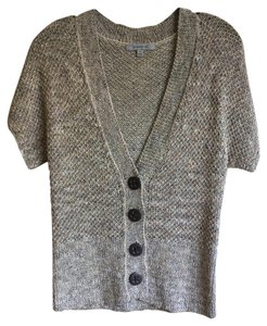 Classiques Entier Taupe Short Sleeve Cardigan