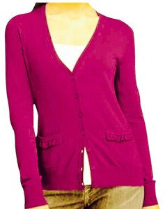 Semantiks Ruffle Pocket V-neck Cardigan
