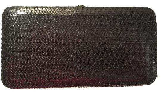 Other Black Sequin Clutch Wallet