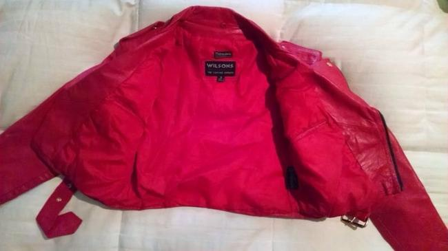 Wilsons Leather Red Jacket