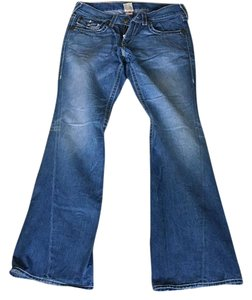True Religion Rare Boot Cut Jeans-Light Wash
