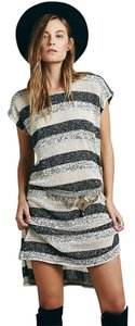 Free People short dress Multi Striped Fp Beach Coverup on Tradesy