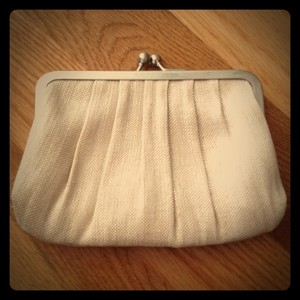 Stila metallic taupe Clutch