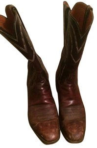Lucchese Country Cowboy Western brown Boots