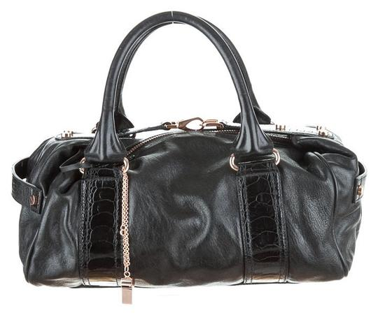 Preload https://img-static.tradesy.com/item/1522901/balenciaga-whistle-with-rose-gold-hardware-black-leather-satchel-0-0-540-540.jpg