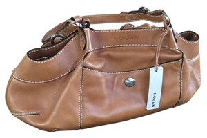 Hogan Satchel in Bisc-Camel