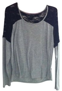 Forever 21 T Shirt Black and Grey