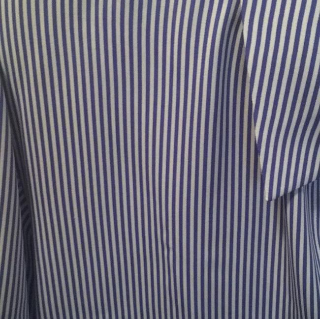 Theory Top Blue stripe Image 2