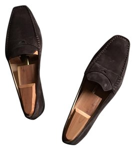 Tod's Chocolate brown Flats