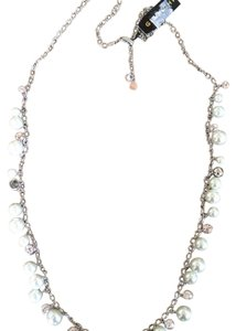Givenchy pearl & crystal necklace