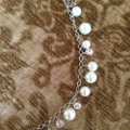 Givenchy pearl & crystal necklace Image 1