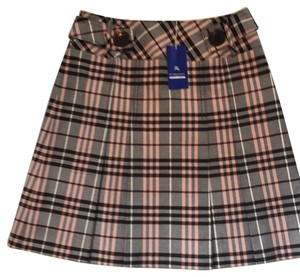 Burberry Blue Label Skirt Pink/brown