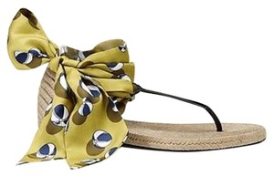 Gucci Carolina Beach Ball Satin Multi-Color Sandals