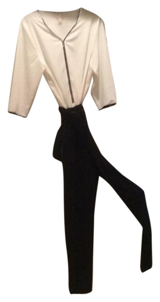 12f9d2ecdaa Chico s Black and White. Size 2 Romper Jumpsuit 46% off retail
